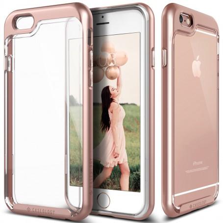 Caseology® Skyfall Series iPhone 6S / 6 Plus Rose Gold + 1 Gratis iPhone 6S / 6 Plus Screenprotector