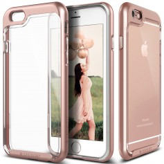 Caseology® Skyfall Series iPhone 6S / 6 Plus Rose Gold + 1 Gratis iPhone 6S / 6 Plus Screenprotector