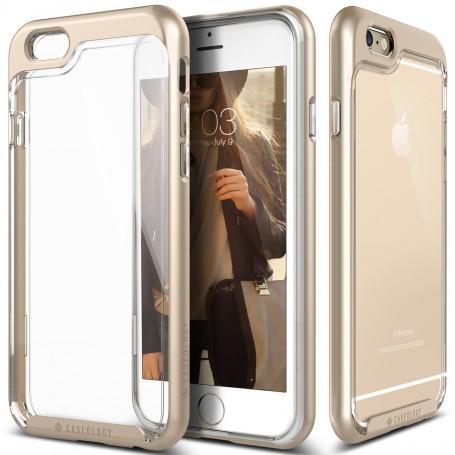 Caseology® Skyfall Series iPhone 6S / 6 Plus Gold + 1 Gratis iPhone 6S / 6 Plus Screenprotector