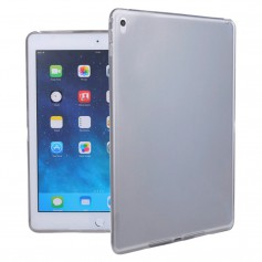 DrPhone Ultra Dun Zero Series Slimfit TPU Case iPad Pro 9.7 inch Transparant Zwart