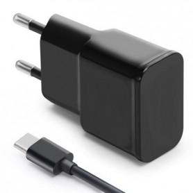 Combodeal - 3 meter Type C USB kabel + USB Adapter Zwart