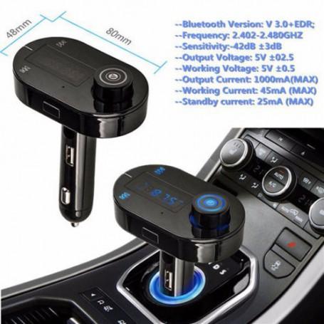 Wireless Auto Lader Fm Transmitter Modulator Mp3 Player