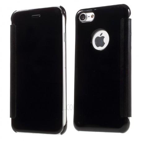 finest selection ac707 a6ea0 iPhone 7+ (Plus) Spiegel Flip Mirror Cover zwart