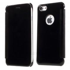 iPhone 7+ (Plus) Spiegel Flip Mirror Cover - Zwart