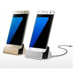 LEWEI® Type C USB LG G5 / Nexus 6P / Nexus 5X / Oneplus 3 / 2 / HUAWEI P9 etc - Dock Station Sync Oplader - Rose Goud
