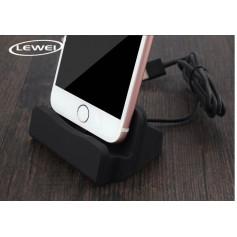 LEWEI® Type C USB LG G5 / Nexus 6P / Nexus 5X / Oneplus 3 / 2 / HUAWEI P9 etc - Dock Station Sync Oplader - Zwart