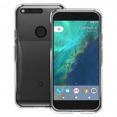 Google Pixel TPU Transparant Ultra Dun Premium Soft-Gel Case Transparant