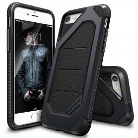 iPhone 7 Rearth Ringke Max defender case - slate + Ringke Max HD Screenprotector