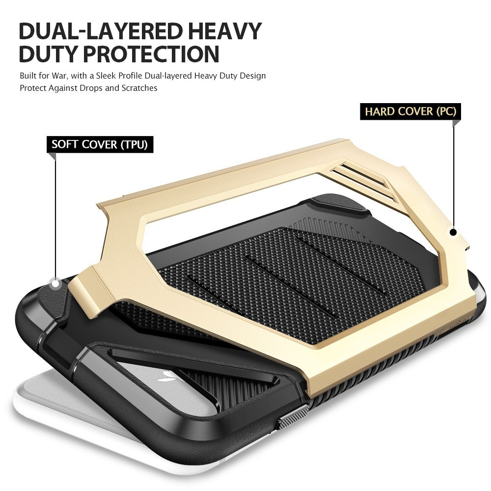 Caseology Parallax Series Shock Proof Grip Case Iphone 7 Plus Leather Flip Kld Kalaideng Ka Galaxy Note 3 Black Screenprotector