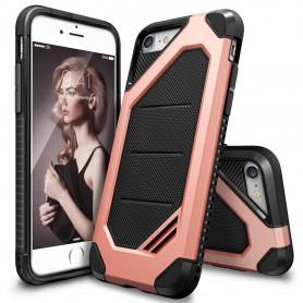 iPhone 7 Rearth Ringke Max defender case - rose gold + Ringke Max HD Screenprotector