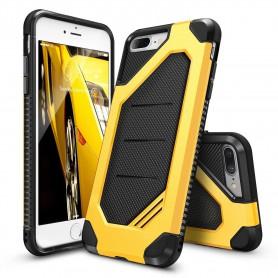 iPhone 7+ Plus Rearth Ringke Max defender case - bumblebee + Ringke Max HD Screenprotector