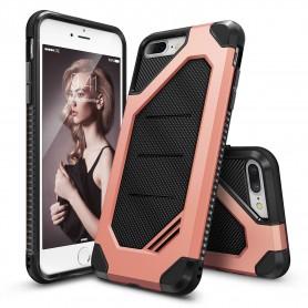 iPhone 7+ Plus Rearth Ringke Max defender case - rosegold + Ringke Max HD Screenprotector
