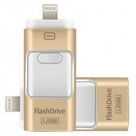 FlashDrive Dual Storage IOS & PC - Extra Opslag Voor iPhone / iPad / iPod - 16 GB
