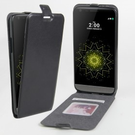 Luxe PU Lederen Soft Case Hand Flip Cover P9 PLUS - Zwart