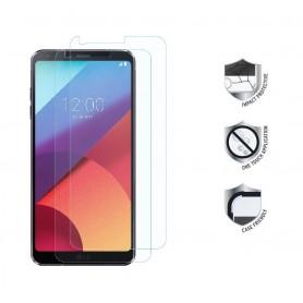 2-Pack LG G6 Tempered Glass Screenprotector Anti-Burst Tegen Schokken/Vallen (Echt Glas)