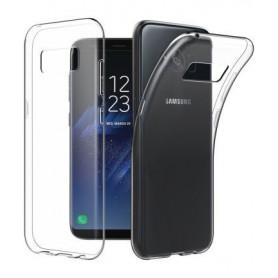 Samsung Galaxy S8 Plus Transparant Ultra Dun Premium Soft-Gel Hoesje