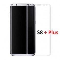 DrPhone Nano Film Screenprotector voor Samsung Galaxy S8 Plus - Krasvrij - Anti Shock - slechts 0,3mm dun