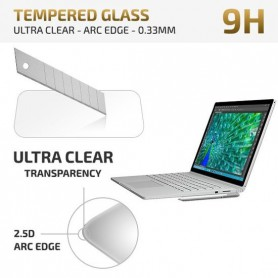 Microsoft Surface Book - Tempered Glass Protector - Arc Edge