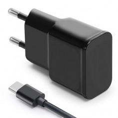 Combodeal - 1 meter Type C USB kabel + USB Adapter Gecertificeerd Zwart