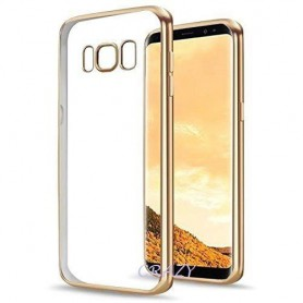 S8 Electro Shine TPU Gel Case Goud