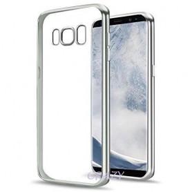S8 Electro Shine TPU Gel Case Zilver