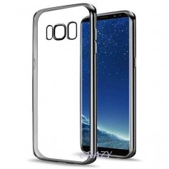 Samsung Galaxy S8 PLUS Electro Shine TPU Gel Case Zwart
