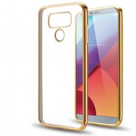 LG G6 TPU softgel ultradunne case Goud