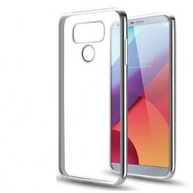 LG G6 TPU softgel ultradunne case zilver