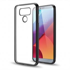 LG G6 TPU softgel ultradunne case zwart