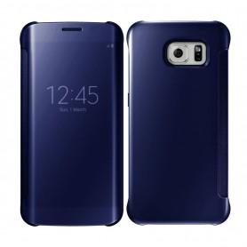 S8 Spiegel Flip Mirror Cover - Blauw