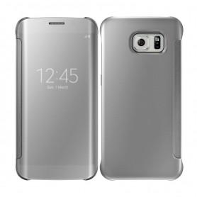 S8 Spiegel Flip Mirror Cover - Zilver