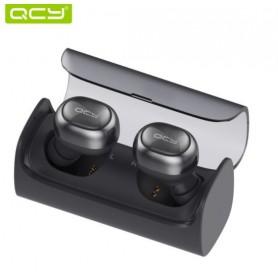 QCY Q29 Pro - Draadloze Oordopjes Bluetooth V4.1 - Inclusief Oplaadcase - Premium Bass / Geluid - Eclipse Black
