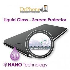 Liquid iPhone 7 PLUS Screenprotector 4D Full Cover Tempered Glass 9H Anti-Shock + Liquid Fles - Installatie zonder Bubbels