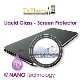 Voor en Achter Liquid HUAWEI P10 PLUS Screenprotector 4D Full Cover Tempered Glass 9H + Liquid Fles - Installatie zonder Bubbels