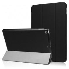 iPad 9.7 (2017) Book case - PU leder hoesje - Smart Tri-Fold Case - zwart
