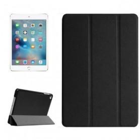 iPad Mini 4 Book case - PU leder hoesje - Smart Tri-Fold Case - zwart
