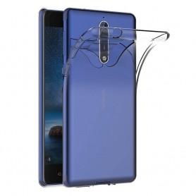Nokia 8 Transparant Gel Siliconen Ultradunne Case