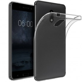 Nokia 6 Transparant Gel Siliconen Ultradunne Case