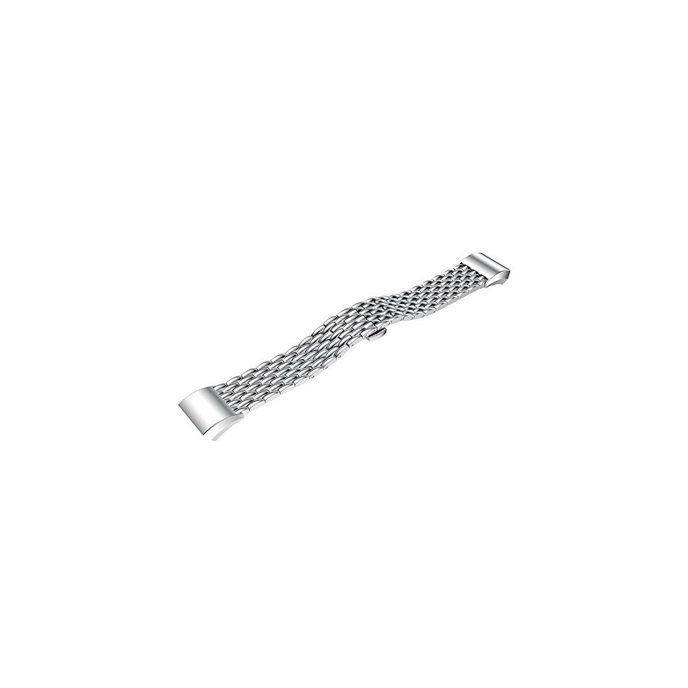 Fitbit Charge 2 Fashion gevlochten Metal Woven Stalen Armband