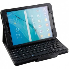 Samsung Galaxy Tab S2 9.7 T550 Hoesje - Bluetooth Toetsenbord Case - Premium PU lederen keyboard case - Zwart