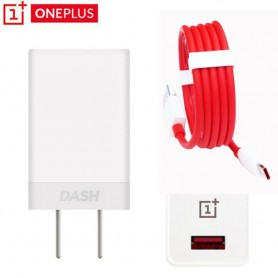 Oneplus Dash Charging - 5V 4A Stekker + Dash Charge USB C - Type C Kabel Combi