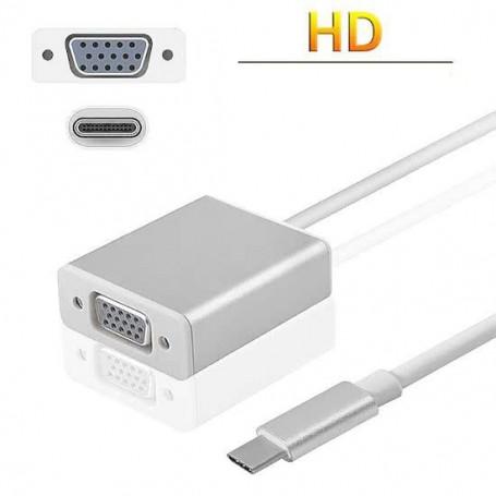 USB Type C naar VGA Kabel Adapter - High Definition Plug & Play