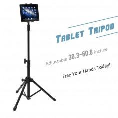 DrPhone Architect XL1 Statief Tripod Stand houder- Mount Holder Met Verstelbare Hoogtes & 360 Graden Rotatie