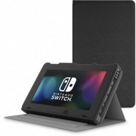 Full Cover Premium Nintendo Switch Stand Case Beschermhoes Met Ingebouwde standaard Zwart