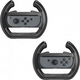 2 Stuks - Nintendo Switch Stuur Wiel Gaming Controller Case Zwart