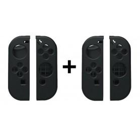 2-Pack Combi Pack - Hoogwaardig Siliconen Bescherm Hoes Nintendo Switch Joy Con - Links / Rechts (4 stuks)