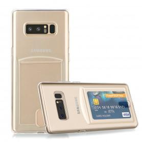 Samsung Note 8 TPU Ultra Kaart Dun Slim Case Transparant