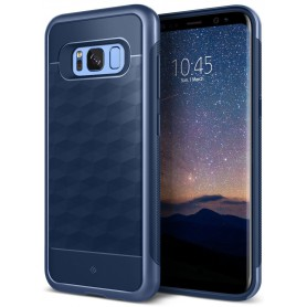 S8+ (Plus) Caseology® Parallax Series Shock Proof TPU Grip Case - Navy blue