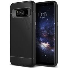 S8+(Plus) Caseology Vault II Series TPU Shock Proof Case - Black