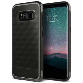 S8 Caseology® Parallax Series Shock Proof TPU Grip Case - Black